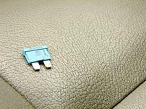 Liten säkring på Front Seat Arkivfoto