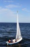 liten segelbåt Royaltyfria Bilder