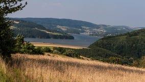Liten sjö i berg i Polen Fotografering för Bildbyråer