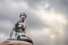 Liten sjöjungfru Fotografering för Bildbyråer