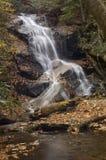 Liten skogsmarkvattenfall Royaltyfri Bild