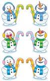 liten snowman 2 Royaltyfri Fotografi