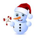 liten snowman Royaltyfri Bild