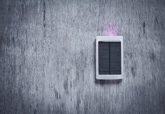 Liten sol- panel Arkivfoton