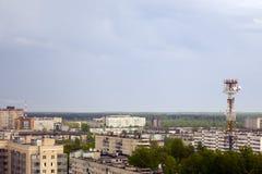 liten stad Arkivbilder
