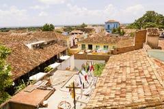Liten stad av Trinidad Arkivfoto
