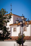 Liten stad i Andalucia Royaltyfri Fotografi