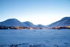 Staden landskap Royaltyfri Fotografi