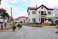 Liten stad i Turkiet Royaltyfria Bilder