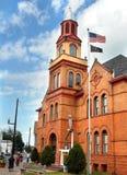 liten stad USA Fotografering för Bildbyråer