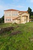 liten sten för kyrklig macedonia ohrid Royaltyfri Foto
