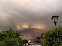 Liten storm Arkivfoton