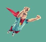 Liten Superhero fotografering för bildbyråer