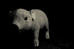 Liten svinleksak arkivfoton