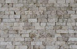 Liten tegelsten för texturväggsten Arkivfoto