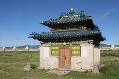 Liten tempel i den Erdene Zuu kloster Royaltyfri Fotografi