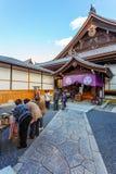 Liten tempel på Chion-i komplexet i Kyoto Fotografering för Bildbyråer