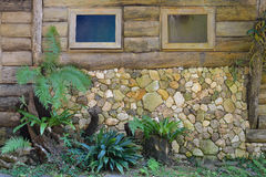 Liten trädgårds- design Arkivfoton