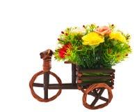 liten trehjuling för blomma Royaltyfri Bild