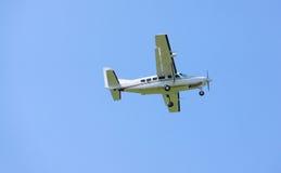 liten turboprop för flygplan Arkivbild