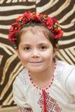 Liten ukrainsk flicka arkivfoton