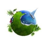 liten värld stock illustrationer