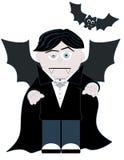 liten vampyr vektor illustrationer