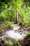 Liten vattenfall. Royaltyfria Foton