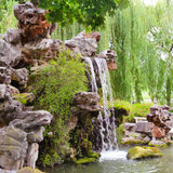 liten vattenfall Royaltyfria Bilder