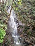 Liten vattenfall i Hangzhou Jiuxiyanshu royaltyfria bilder