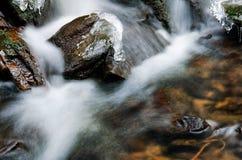 Liten vattenfalldetalj Arkivbilder