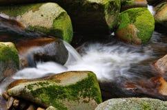 Liten vattenfalldetalj Arkivfoto