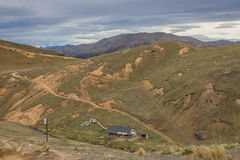 Liten vikkoja för Mt Somers Woolshed Royaltyfri Foto