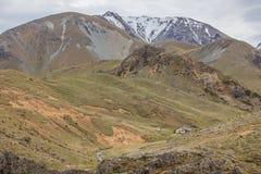 Liten vikkoja för Mt Somers Woolshed Royaltyfria Foton