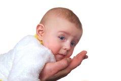 Liten vit pojke Arkivfoto