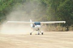 liten white för flygplan Royaltyfri Bild