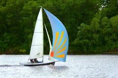 liten yacht Royaltyfria Bilder