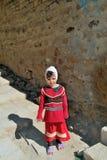 Liten yemeni flicka Arkivbild