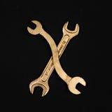 literę x Abecadło robić złoci remontowi narzędzia Obrazy Royalty Free