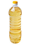 Liter bottle of vegetable oil Royalty Free Stock Image