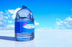 6 liter bottle of water. Stock Images