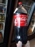 3 liter cola royaltyfri bild