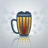 liter för öl Arkivfoton