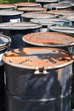 200 liter fuel tank Stock Photography