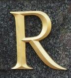 literę r Zdjęcia Royalty Free