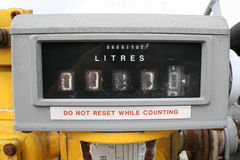 Liter vertonings stock foto's