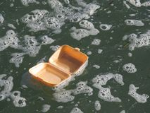 Litera en el mar 2 fotos de archivo libres de regalías