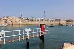 Litera - un lugar en la orilla para amarrar Fotos de archivo libres de regalías