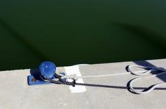 Litera - un lugar en la orilla para amarrar Fotografía de archivo libre de regalías