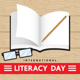 LITERACY DAY Royalty Free Stock Photo